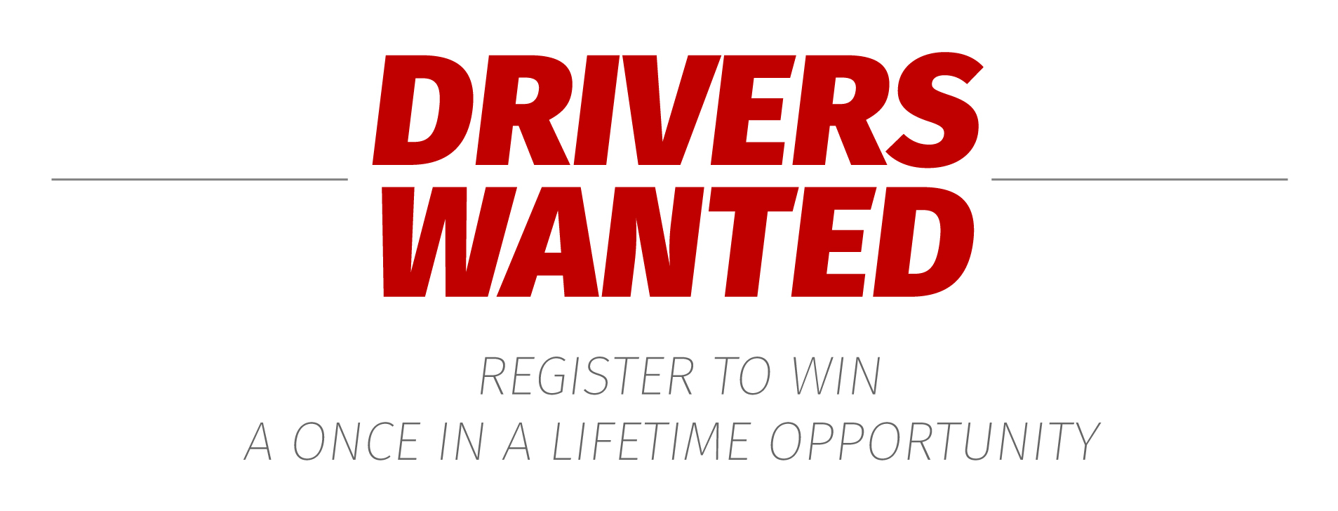 Drivers Wanted - Register today to be one of the first to drive the Nautilus Engine technology!